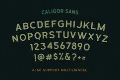 CALIGOR - Display Typeface Product Image 5