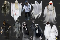 39 Halloween overlay & Ghost Clipart Photoshop overlay Product Image 3