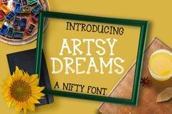 Artsy Dreams - Font  Product Image 1
