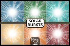"12 Designs - 12"" x 12"" Solar Flare Bursts Set Product Image 3"