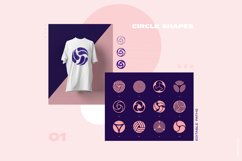 96 Geometric shapes & logo marks collection Vol.1 Product Image 4