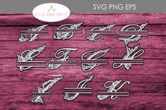42 Split Family Monogram SVG Mega Bundle Layered Monogram Cu Product Image 6