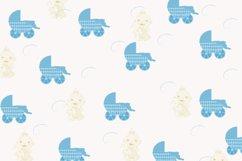 Sweet dreams digital paper, Baby shower digital paper Product Image 5