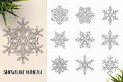 530 Vector Mandala Ornaments Bundle Product Image 14