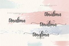 Dinalima Script Product Image 5