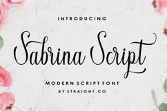 Sabrina Script Product Image 1