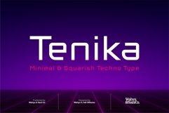 Tenika | Minimal & Squarish Techno Type Product Image 1