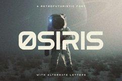 Osiris - Futuristic Font Product Image 1