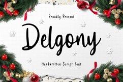 Web Font Delgony Product Image 1