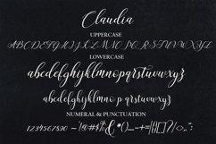 Claudia Script Product Image 6