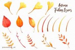 Autumn falling leaves Product Image 5