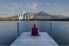 Wild. Travel. 16 Doodle style illustration. Product Image 2