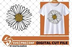 Beauty Daisy svg, Flower svg, Gerber svg, Summer svg Product Image 1