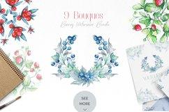 Berries Watercolor Bundle Product Image 6