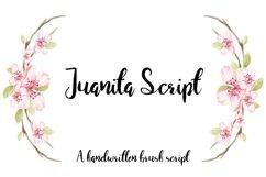 Juanita Brush Script Product Image 1