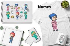 Nurse Illustrations Product Image 3