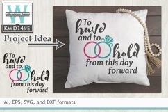 Wedding SVG - Wedding Vows Product Image 1