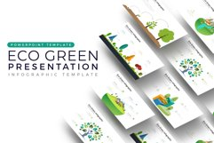 Eco Vector Presentation - Infographic Template Product Image 1