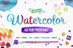 Watercolor Kit For Photoshop Product Image 2