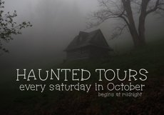Haunted House - A Spooky Handwritten Font Product Image 5