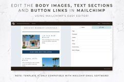 Email Template for Mailchimp & Canva | Real Estate | Realty Product Image 3