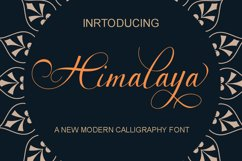 Himalaya script Product Image 2