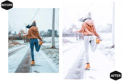 10 Snowy Dream Photoshop Actions And ACR Presets, Ps Winter Product Image 2