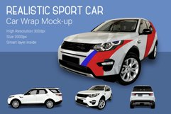 Sport Car Mock-Up Product Image 2