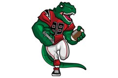 T Rex - American Football Mascot Character Design Product Image 1