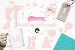 Wedding Silhouette graphics and illustrations Product Image 1