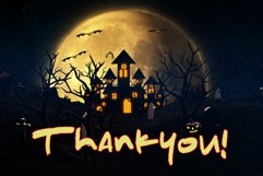 The Spooky Night - A Halloween Font Product Image 8