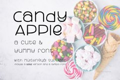 Candy Apple | A Cute and yummy font Product Image 1