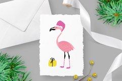 Christmas flamingos set Product Image 3