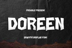 Web Font Doreen Font Product Image 1