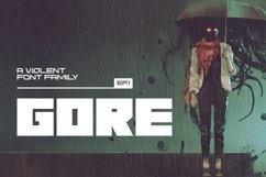 Gore Typeface Product Image 1