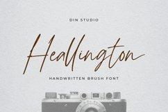 Heallington-Handwritten Brush Font Product Image 1