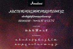 Amaliani Font Product Image 4