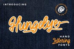 Hungdye - A Beautiful Script Font Product Image 1