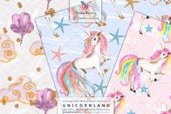 Magical Unicorn Digital Patterns Cute Pastel Colors DP011 Product Image 4