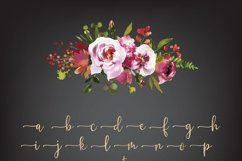 Mettalic letters, Wedding fonts, Golden lettering Product Image 4