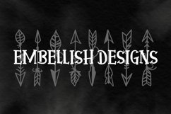 Arrow Font - Ornaments  Product Image 4