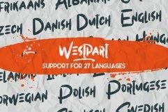 WESTPART - Brush Fonts Product Image 4