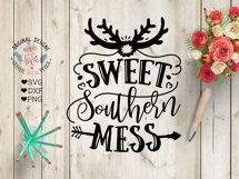 Sweet Southern Mess - Southern Cut File and Sublimation File Product Image 1
