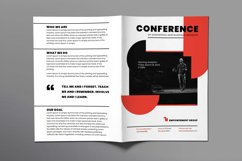 Conference Brochure Bifold Product Image 2