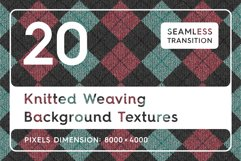 20 Knitted Weaving Background Textures Product Image 1