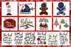 2019 Holly Jolly Christmas Bundle SVG DXF PNG EPS Comm Product Image 5