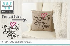 Wedding SVG - Happily Ever After Product Image 1