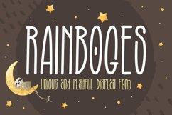 Crafting Font - Rainboges Product Image 1