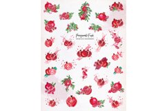 Pomegranate Fresh Watercolor Set Product Image 3