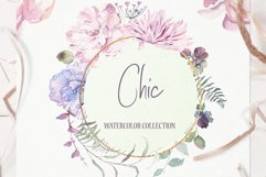 Chic Watercolor Floral Collection Product Image 1